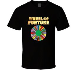 Chinese  Wheel of Fortune T-shirt Tee Classic Tv Game Show Gift New From US Top Tee 100% Cotton Humor Men Crewneck T Shirts Plus Size manufacturers
