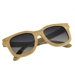 SunglaSSeS man polariSed online shopping - BEDATE G007A Polarised Wooden Sunglasses Wood Frame Sunglasses with UV Blocking Polarized Lens Multicolor