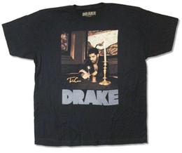 Drake T Shirts Australia - Drake Candles Grey Reflective Logo Black T Shirt New Official Adult jurney Print t-shirt