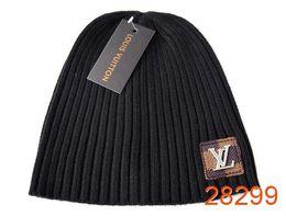 Cashmere beanies online shopping - 2018 Hot New Good Quality Luxury Brands V Autumn Winter Unisex wool hat fashion casual Letter hats For Men women designer cap
