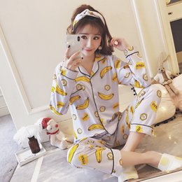 2018 Japanese Fresh Kawaii Pyjamas for Women 100% Cotton Mori Girl Womens  Pajamas Sets Long Sleeve Pijamas Conjunto 0c9a1afd3