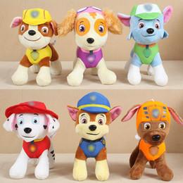Wedding stuffed animals online shopping - plush toy dog doll cm Stuffed Animals grab machine doll dog new year dog wedding toy doll gift