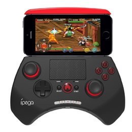ipega controller joystick NZ - ipega PG-9028 Bluetooth Wireless Game Pad Controller Gamepads Joystick Stretchable Holder Touchpad For Android iOS PC Tablet