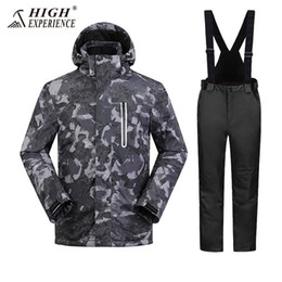 $enCountryForm.capitalKeyWord Australia - 2018 High Experience Men Ski Suit Snowboard Clothing Trouser Windproof Waterproof Outdoor Sport Wear Male Super Warm Thicken Set