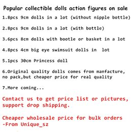 Link action figures online shopping - Special Link for Popular Girls Doll American PVC Collectible Action Figures Kawaii Realistic Reborn Dolls