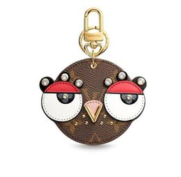 Chinese  High Quality Brand Design ANIMAL FACES BAG CHARM AND KEY HOLDER M68216 CHARMS MORE TAPAGE BAG CHARM KEY HOLDERS BAG CHARMS PETITE MALLE manufacturers