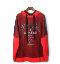 Chinese  High-end Plus size Couples dress Women &Men's Hooded loose Letter printing Gauze decoration Hoodies & Sweatshirts Lovers' Tops manufacturers