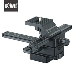 dslr camera rails 2019 - KIWIFOTOS FC-1 CLOSE-UP 4 WAY MACRO FOCUSING RAIL SLIDER FOR CANON FOR NIKON SONY PENTAX DSLR CAMERA CAMCORDER cheap dsl