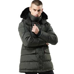 5bc4434b408 Men Winter Warm Thick Parka High Quality Jacket Men Fashion Casual Loose Mens  Jacket Coat Sportswear Mens Long Overcoat