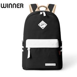 a5bbf73ab0c5 Stylish Black Girl Backpacks NZ - Preppy Style Fashion Women Canvas Solid School  Bag Brand Travel