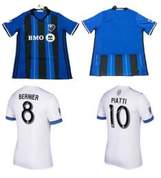 18 19 Montreal Impact Home Soccer jerseys Adults Top Thai Quality Football  Shirts 2018 2019 ODURO PIATTI CIMAN Soccer Wears Sports Uniforms ce3c657b9