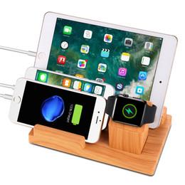 4-портовая зарядная станция для смартфонов, планшетов другие гаджеты для Apple watch зарядная подставка-компактная док-станция для нескольких USB-зарядных устройств