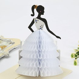 3D Pop Up Princess Children Birthday Invitations Greeting Card Valentines Day Gift Cards Free Shipping