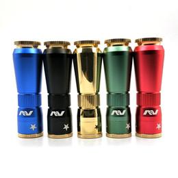 new av mod 2019 - New AV Mods E Cigarette Machinery Mods AV Magnetic Button Mod 24mm Diameter 5 Colors 510 Thread Mods Free Shipping