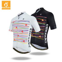 EMONDER Custom Men Cycling Jersey Pro Road Bike MTB Short Sleeve Italy  Antislip Sleeve Cuff High quality fabrics Bike Clothing 76127572e