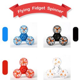 Flying Fidget Spinner Decompression Toys Rechargeable Automatic Rotatable Return Gliding Flying Fingertip Gyroscope Finger Gyro Kids Gift from fines spinner suppliers