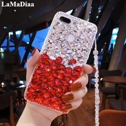 fox bling iphone case UK - wholesale Bling Rhinestone Crystal Diamond Fox and Soft Back Phone Case Cover for iPhone X XS MAX XR 5 5C 6 7 8 Plus