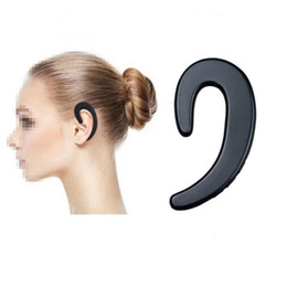 Wholesale Black S Hooks Australia - 2018 HOT S-103 New Bluetooth headset lug type without headset Long time with no pain wireless headset Single ear