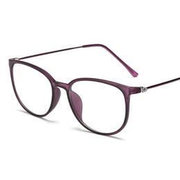 Chinese  Light weight Oversize Optics Glasses Frame Women Transparent Lens Big Eyeglass TR90 Metal Eyewear Vintage Spectacles Black Oculos manufacturers