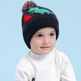 $enCountryForm.capitalKeyWord Australia - baby & kids boys fall winter print navy blue knitted beanie hat children fashion casual cute hats caps