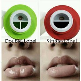 lip plumper enhancer NZ - Girls Lip Plumpers NO LOGO for Apple Lips Enhancer Double or Single Lobed Lip Suction Plumper lips candylipz Beauty Lips Care Tools