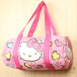 66f2d8c7f16aa Cartoon Hello Kitty Melody Doraemon Handbags Women Travel Bags Girls  Shoulder Bag Big Capacity Travel Bag for Travelling Tote