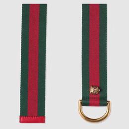 683cb7da4f6 HOT 2018 Fashion bee Brand belt Genuine Men Belt Designer Luxury High  Quality Cloth Buckle Mens Belts For Women Luxury belt Jeans and box