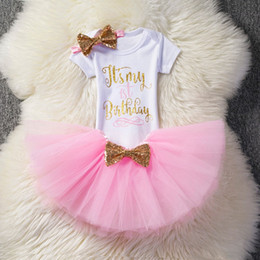 Gifts For Infant Girls Australia - Baby Birthday Princess Mesh Skirt Toddler Bebes Outfit Infant Christening Suits For Baby Girl Gift Tutu Kids Dress With Bow