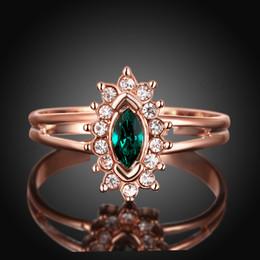 0219bd602 Gemstone Rings for Women Men Ring Fashion Brand Engagement Wedding Rings  Diamond Swarovski Crystal 18K Gold plated Wedding Diamond rings