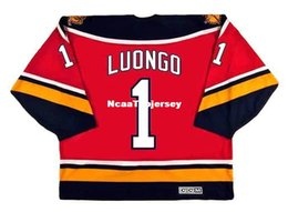26558d291 custom Mens Jerseys ROBERTO LUONGO Florida Panthers 2003 CCM Vintage Home  Cheap Retro Hockey Jersey