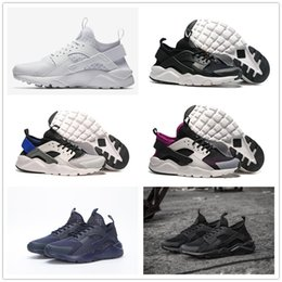 222876e06a6e Huarache 4.0 1.0 Classical Triple White Black red men women Huarache Shoes  Huaraches sports Sneakers Running Shoes size eur 36-45