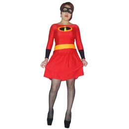 $enCountryForm.capitalKeyWord Australia - Cosplay Kids Adult Costume Elastigirl Superhero Halloween Jumpsuits Zentai Dress Suit