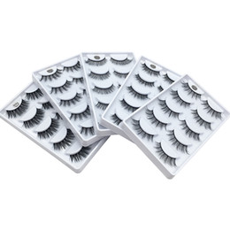 $enCountryForm.capitalKeyWord UK - 3D Mink Eyelash Hair 5 Pair False Eyelashes Extension Eyelash Hair Full Strip Eye Lashes by Aritificial Mink 5 Designs 3001361