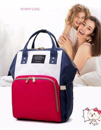 $enCountryForm.capitalKeyWord NZ - Newest Korean style multi-functional Outdoor Mommy bag mother backpack large-capacity waterproof mummy bag day travel backpack