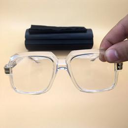 b9ec608b067 Best quality Sunglasses 2018 Fashion Clear lens Glasses Mens Womens  Polarized Sun Glasses Vintage Brand Eyewear Acetate eyeglasses 607