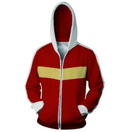 China 2018 Fashion Men And Women Anime 3D Printing Zipper Jacket Hooded Japan Anime Sweatshirts Cosplay Costume Autumn Jacket cheap japan costumes suppliers