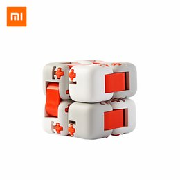 spinner building NZ - Xiaomi Mitu Building Blocks Finger Fidget Anti-strss Toy Cube Spinner Finger Bricks Intelligence Finger Toys Portable for adult child
