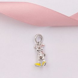 Authentic 925 Sterling Silver CZ Telesthesia Love Pink Crystal Beads for Women