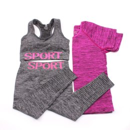 China Womens Sportswear Gym Sport Suit Yoga Sets Women Gym Clothes Tracksuit Sexy Jogging Suits Sport Wear Woman Fitness Workout Set cheap womens fitness wear suppliers