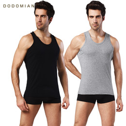 91a543c7 Mens purple Muscle shirt online shopping - 2 Pieces Mens Cotton Tank Top  Slim Clothing Mens