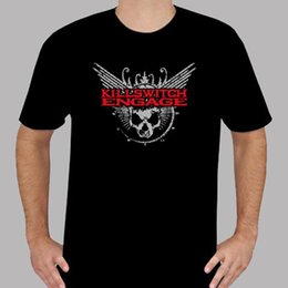 $enCountryForm.capitalKeyWord Canada - T Shirt Making Crew Neck Short New Killswitch Engage Metal Rock Band Logo Men's Black T-Shirt Size S to 3XL Office Tee For Men