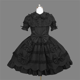 $enCountryForm.capitalKeyWord NZ - Halloween Costumes for Women Southern Belle Costume Black Victorian Dress Ball Gown Gothic Dress Plus Size 3XL 4XL 5XL Costume