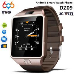 $enCountryForm.capitalKeyWord Australia - 696 Qw09 3G wifi smart watch DZ09 android 4.4 mtk6572 GHz ROM 4 GB RAM 512 M Smartwatch Para Android iOS PK GT08 DZ09