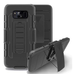 Wholesale For Galaxy S7 S6 S5 S4 Active Mini Future Armor Impact Hybrid Hard Phone Case Cover Belt Clip Kickstand Stand Samsung G870 G870A