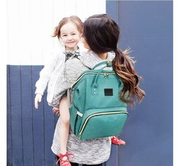 Wholesale 11 colors diaper bags Mommy Backpacks Nappies Bags Mother Maternity Diaper Backpack Large Volume Outdoor Travel Bags