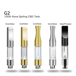 oil drip pen UK - G2 510 CE3 Cartridge Vape Tank Gold Metal plastic Drip Tips WAX Thick Oil Vaporizer Atomizer For BUD Touch O Pen Battery VE8