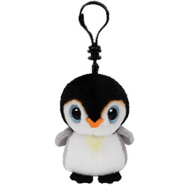 0d8acde8da3 Ty Beanie Boos Pongo The Penguin Small Pendant Plush Toy Clip Stuffed  Collection Soft Doll 4