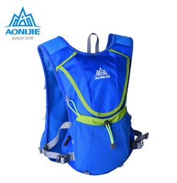 Chinese  AONIJIE Running Cycling Bag Hydration Bladder BackPack Outdoor Sports Hiking Camping Pack With 1.5 L Hydration Water Bag manufacturers
