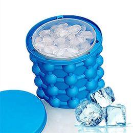 14*12см irlde льда Джинн революционный компактный льда создателя кубика льда Джинн кухонные инструменты 60pcs/много
