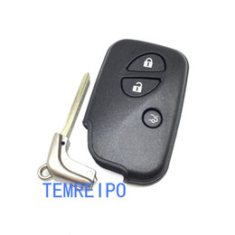 $enCountryForm.capitalKeyWord NZ - 3 Buttons Smart Remote Key Car Key Shell Case Fob Fit For Lexus GS250 GS350 ES350 GS430 RX350 LX570 IS250 IS350